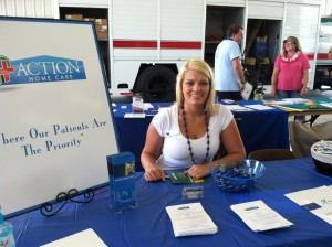 Action Home Care at the Adam Bryant Minimal Regatta in Okeechobee, FL