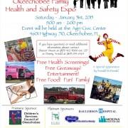 2015 Okeechobee Health & Safety Expo Flyer